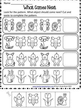 Único Patrones De Kindergarten Hoja De Trabajo Colección - hojas de ...