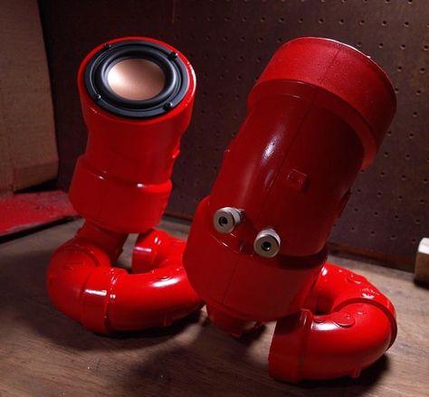 Custom Speakers PVC pipe sewer speakers