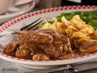 No Fuss Salisbury Steak - This diner-style favorite cooks up in only about 35 minutes, making it easier than ever to serve a homemade dinner to your family. Pair this one with your favorite veggie!