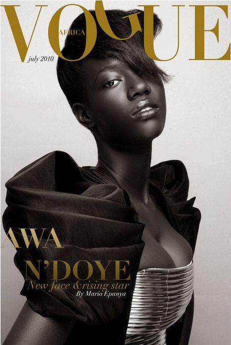 vogue africa (one day)  /  Mario Epanya