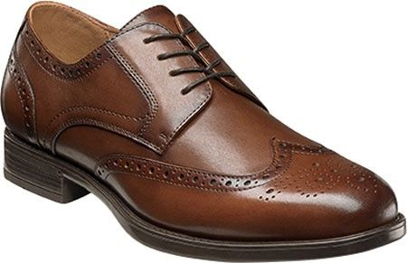 Florsheim Midtown Wingtip Oxford(Men's) -Black Smooth Leather Finishline Clearance Prices Countdown Package n0DwrefNP