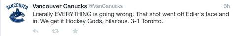 The Canucks get it Hockey