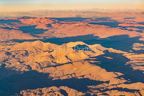 Andes Mountains Desert Aerial Landscape Scene Framed Print By Dflc Prints Andes Mountains Landscape Mountains