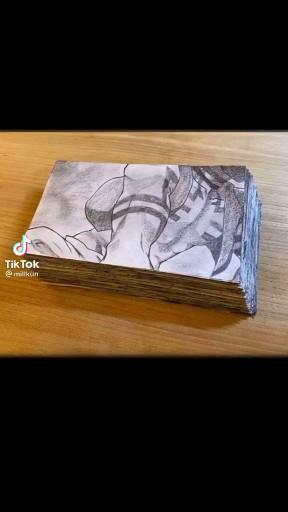 Kimetsu no Yaiba Demon Slayer Flipbook Art  Artist: millkun from TikTok