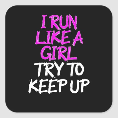 i run like a girl square sticker christmas gift for mailman, christmas gifts diy candy, food christmas gift ideas #christmasgiftsets #christmasgiftsforthatmakeuplover #amazinghusband, back to school, aesthetic wallpaper, y2k fashion