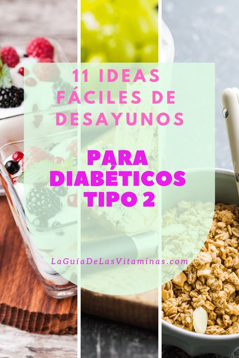 pinterest recetas para diabetes tipo 2