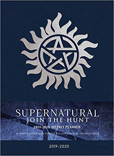 Supernatural 2019 2020 Weekly Planner Amazon Co Uk Insight