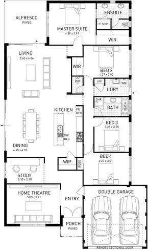 Rushmore Single Storey Floor Plan Wa Mansion Plans Craftsman Floor Plans House Design