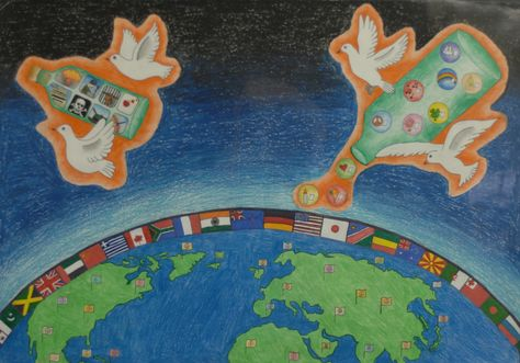 Finalist from New Zealand: Lions Clubs International 2012-2013 Peace Poster Contest