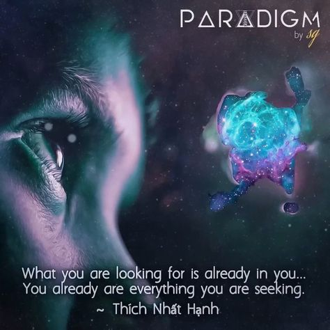 Look 👀 within yourself 🧘♂️🧘♀️🙏 #paradigmbysg #thichnhathanh #quotes #innerstrength #innerpeace #meditation #higherconsciousness #mindfulness #universe #growth #higherself #digitalart #higherawakening #enlightenment #knowledge #knowyourworth #wisdom #you #thirdeye #positivevibes #lookinsideyourself #innerwork #qoutesoftheday