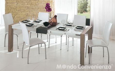 Mondo Convenienza Tavoli E Sedie Moderni Prezzi.Tavoli E Sedie Moderno Wood Mondo Convenienza La Nostra