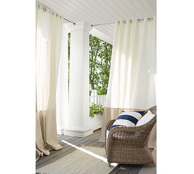 179 Best *Drapes U0026 Curtains U003e Outdoor Drapes U0026 Hardware* Images On  Pinterest | Indoor Outdoor, Outdoor Curtains And Outdoor Drapes