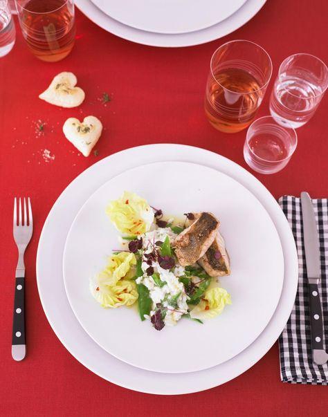 Rezept Zitronen-Risotto mit Zanderfilet und Salat