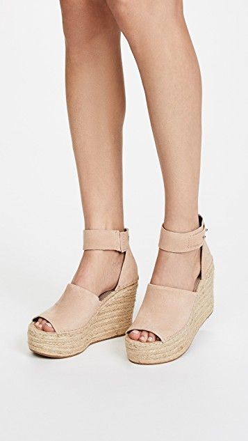 c489fd96e679a Straw Wedge Espadrilles in 2019 | Style Inspo | Espadrilles, Wedges ...