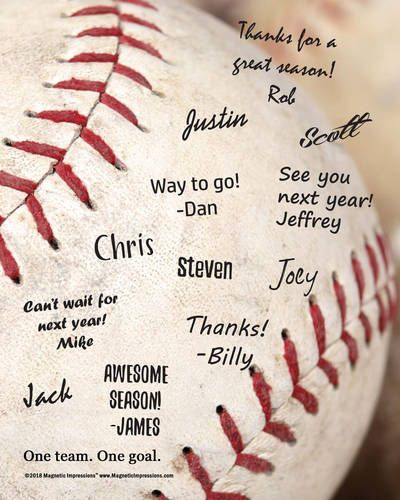 Baseball Team Quote Picture For Signatures 8 X 10 Sport Poster Print Team Quotes Sport Poster Picture Quotes