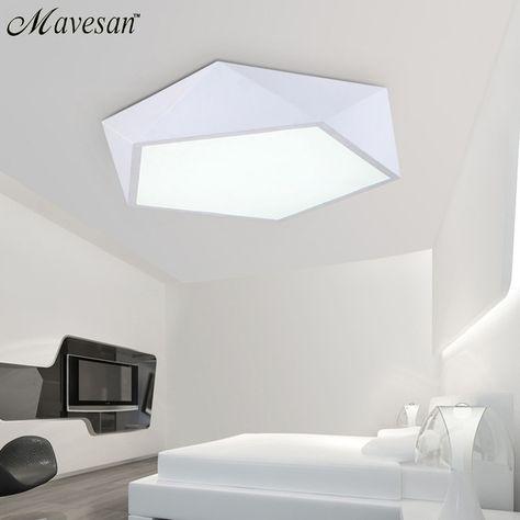 Led Plafond Luminaire éclairage Chambre éclairage Lampe Moderne Lumière  Couleur Polariseur Luminaria Lampes Enfant Luminaire Lampe Déco