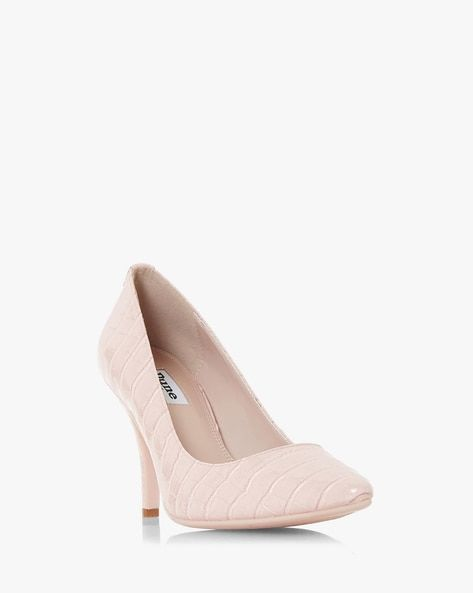 Buy Pink Heeled Shoes for Women by Dune