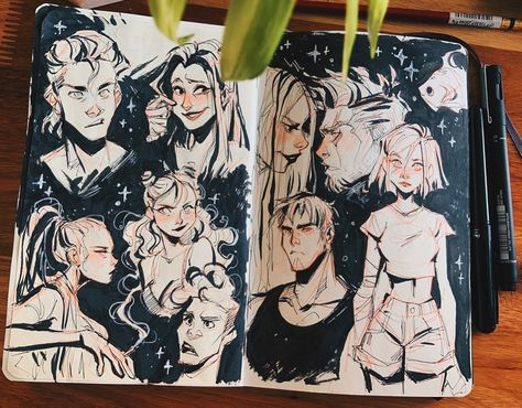 Character Sketches, Art Sketches, Character Art, Sketchbook Inspiration, Art Sketchbook, Fashion Sketchbook, Moleskine, Doodles, Character Design Inspiration