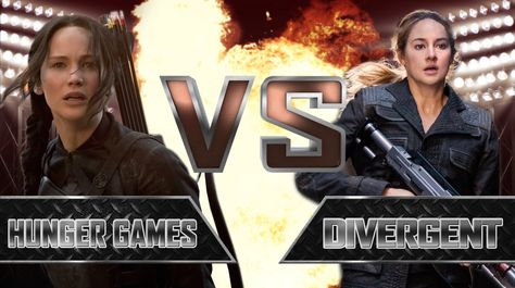 Hunger Games VS Divergent YouTubers Decide