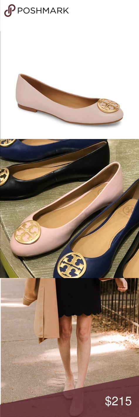5e575c616d3f NWB Tory Burch Blush Benton Ballet Flats 8 Tory Burch Blush Benton Ballet  Flats 8 Condition  New with Box Color  Sea Shell Pink   Nude Blush  Material  ...