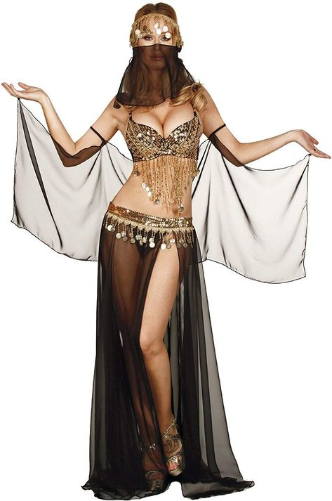Get a sexy Arabian Belly Dancer Halloween Costume to make your costume party a little more fun! Here's a gorgeous collection of perfect costumes. Belly Dancer Halloween Costume, Belly Dancer Costumes, Belly Dancers, Dance Costumes, Halloween Costumes, Belly Dance Outfit, Tribal Belly Dance, Belly Dance Skirt, Dance Outfits