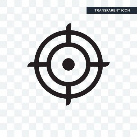 Target Vector Icon Isolated On Transparent Background Target Lo Stock Ad Icon Isolated Target Vector Ad
