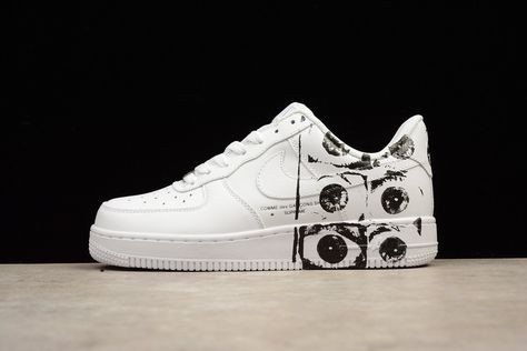 fca7b23c8fc Nike Air Force 1 Low Supreme Comme des Garcons Shirt  923044-100 ...