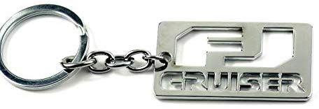 1 Pcs Car Keychain Key Ring Wholesale For Toyota Fj Cruiser Metal