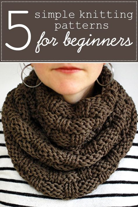 5 Knitting Patterns Perfect For Beginners Beginner Knit