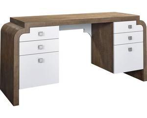 Anthony Baratta Bryce Desk White Writing Desk Furniture Desk