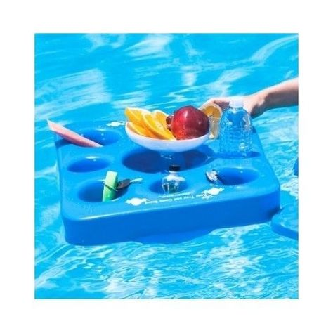 Floating Drink Holder Pool Tray Games Board Float Beverage Game