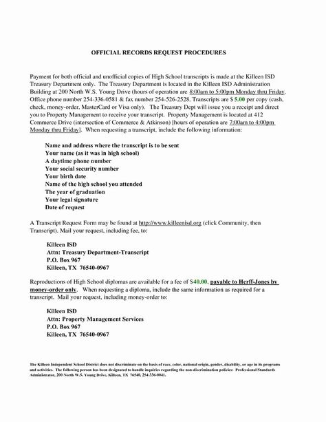 Transcript Request Form Template In 2020 Lettering Business