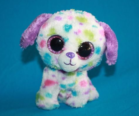 Darling, Ty Beanie Boo Justice Stores exclusive Dalmatian dog, reference information and photograph.
