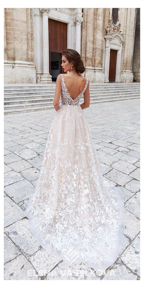 Wedding Dresses 2018, Cute Wedding Dress, Wedding Dress Trends, Bridal Dresses, Wedding Dress Styles, Bridesmaid Dresses, Wedding Bride, Wedding Ideas, Wedding Planning
