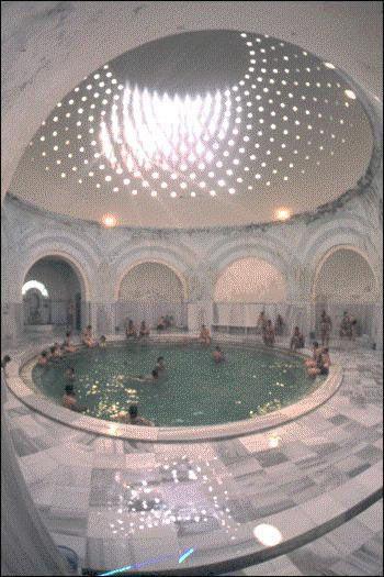 Turkish bath, Bursa, Turkey