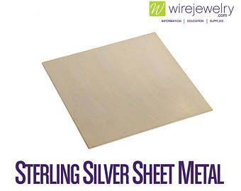 Fine Silver Sheet Metal Dead Soft 6 Inch Width Various Gauges And Lengths Magnetic Sheets Sticker Sheets Sheet Metal