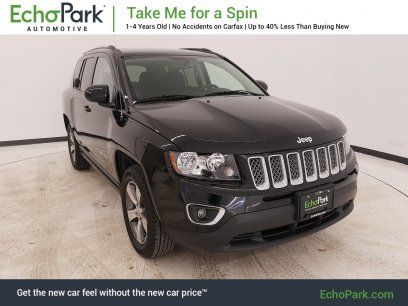 Used 2017 Jeep Compass High Altitude For Sale In Colorado Springs