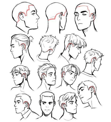 25 Ideas Hair Drawing Reference Male In 2020 Cartoon Tutorial Cartoon Drawings Hair Reference