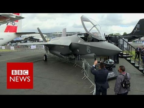 cheap for discount deba7 1d78a Up close and personal with the F-35 jet - BBC News - YouTube