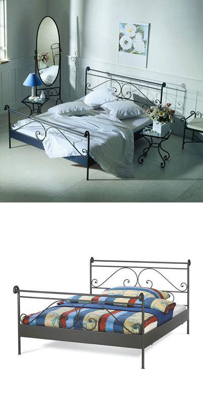 Metallbett Schwarz Doppelbett Metall 180x200 Bett Bett 180 Metallbett 180x200