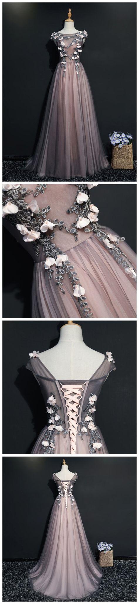 sleeveless 2017 A -line Princess Scoop...