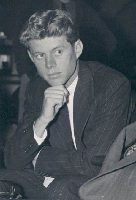 John Fitzgerald Kennedy, nicknamed Jack, was a very complex young man. He struggled with his many illnesses and the competition with his older brother Joe to win is father's favour.  With his charisma he was a ladies man too. His messy room at Choate was full of books and Jack read every newspaper he could, possessing an intellectual quality that later on defined him as a president.