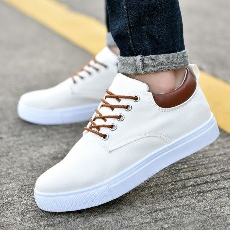 Men Women/'s Canvas Shoes Low Top Sneakers Comfy Lace Up Sports Casual Flats New