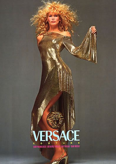 Claudia Schiffer for Versace by Richard Avedon, 1994