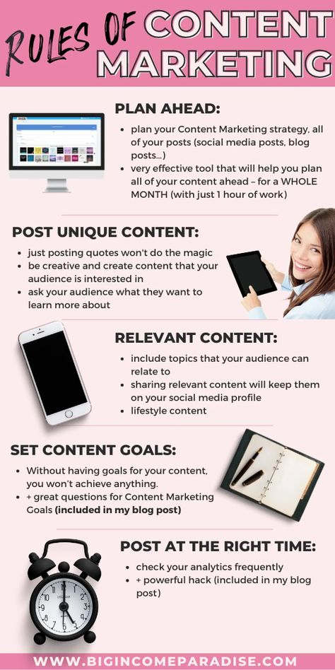 Simple Rules of Content Marketing