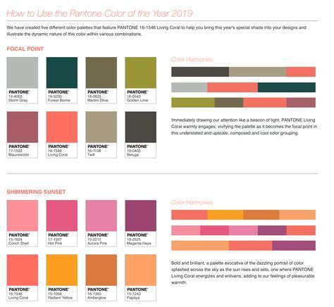 these color palettes work with the 2019 pantone of year colour palette 0921 c dark burgundy