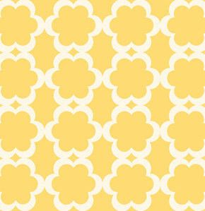 Tarika in Yellow, Taza Collection by Dena Fishbein for Westminster Fabrics / Free Spirit Fabrics, One Yard, 1 Yard