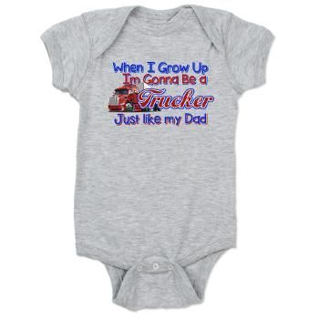 6442473f Best Become Truckers Baby Bodysuit for | Boy Clothes | Baby, Baby bodysuit,  Boy outfits