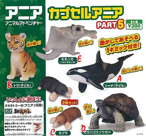 TAKARATOMY A.R.T.S of reptiles turtle miniature All 15 set Gashapon mascot toys