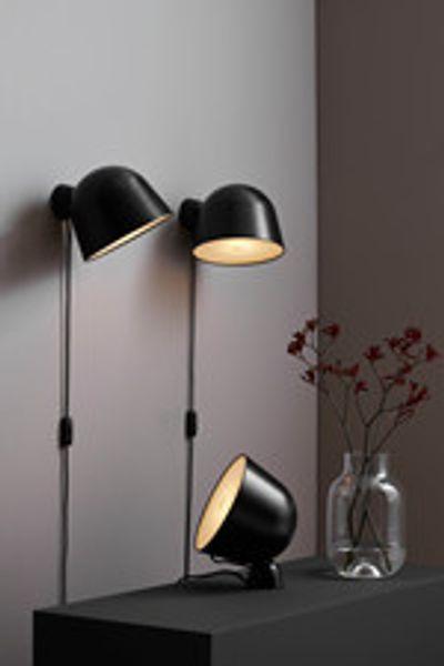 Kuppi Woud Lampe Carstens Design Interiorstudio Og Nettbutikk Vegglampe Lamper Minimalistisk